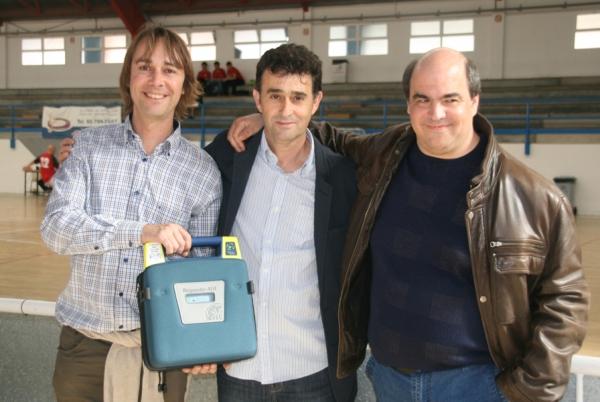 Donación desfibrilador externo automático en Canet de Mar